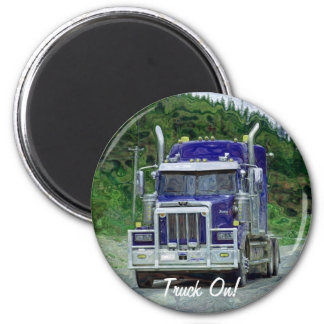 Imán grande de Truckin de los conductores de camió