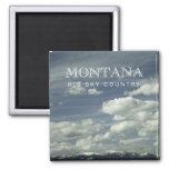 Imán grande del país del cielo de Montana