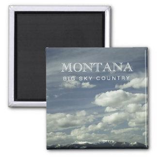 Imán grande del país del cielo de Montana Imanes