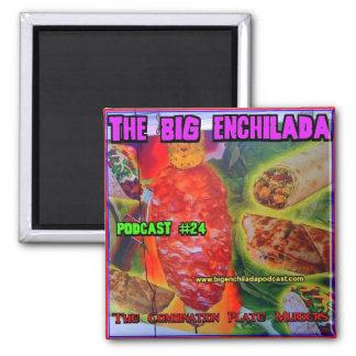 Imán grande del refrigerador del Enchilada