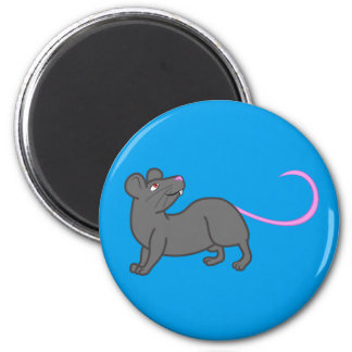 Imán gris del ratón