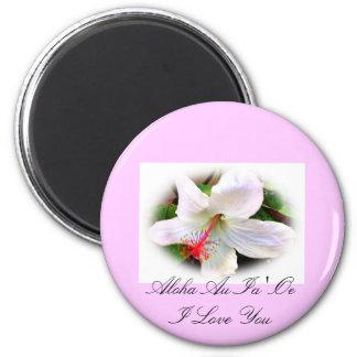 Imán hawaiano del hibisco