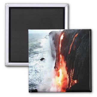 Imán hawaiano del volcán