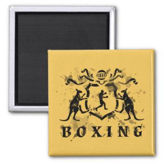 Imán heráldico del boxeo