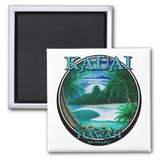 Imán hermoso de Kauai Hawaii