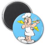 Imán hinchado del cocinero