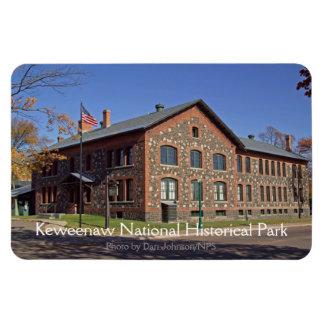 Imán histórico nacional del parque de Keweenaw