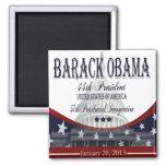 Imán inaugural de 2013 Obama