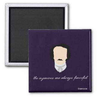 """Imán """"ingenioso"""" de Edgar Allen Poe"""