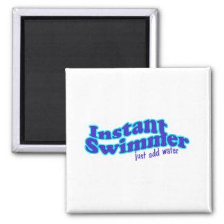 Imán inmediato del cuadrado del nadador