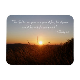 Imán inspirado - 2 Timothy 1; 7