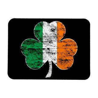 Imán irlandés de Flexi del trébol de la bandera (a