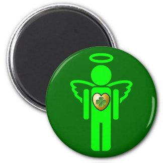 Imán irlandés del ángel