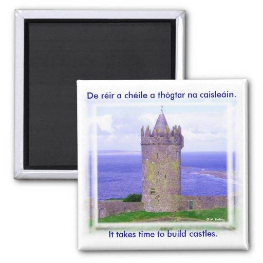 Imán irlandés del castillo de Doonagore