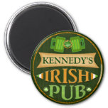 Imán irlandés del Pub del día de St Patrick person