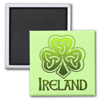 Imán irlandés del refrigerador