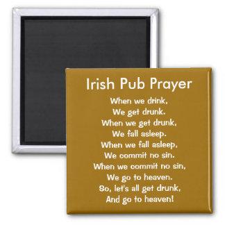 Imán irlandés del rezo del Pub