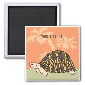 Imán irradiado personalizable 3 de la tortuga