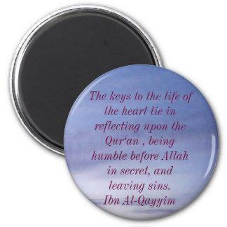 Imán islámico sabio de la cita
