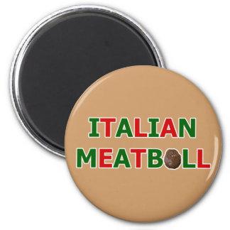 Imán italiano de la albóndiga