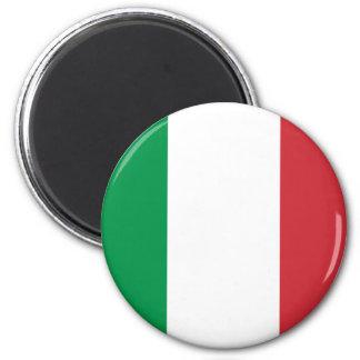 Imán italiano de la bandera