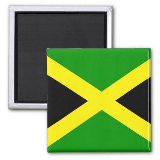 Imán jamaicano de la bandera