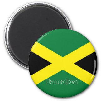 Imán jamaicano del refrigerador del recuerdo de la