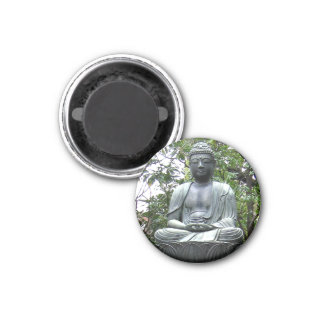 Imán japonés de la fotografía de la estatua de la