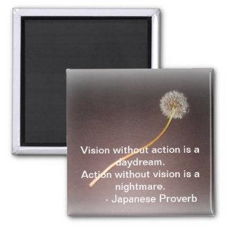 Imán japonés del proverbio