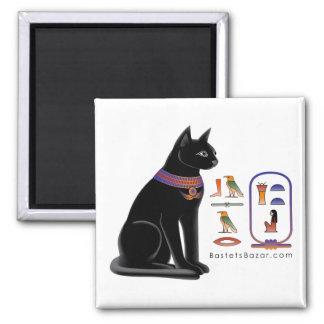 Imán jeroglífico del gato egipcio