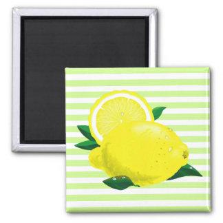Imán jugoso de los limones