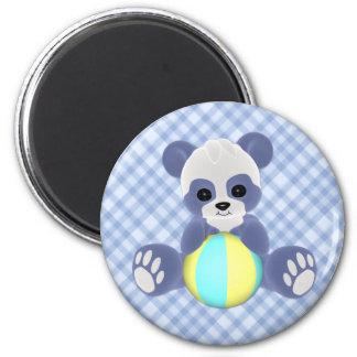 Imán juguetón del bebé de la panda