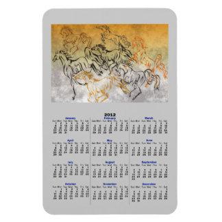 Imán JUGUETÓN del calendario de la MANADA 2012