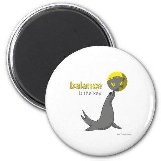 imán - la balanza es la llave