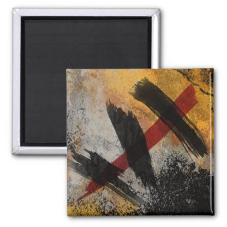 Imán, la cicatriz, pintura abstracta de Digitaces