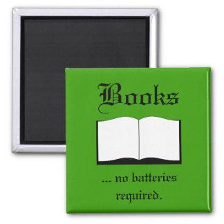 Imán - libros… ningunas baterías requeridas