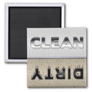 Imán limpio o sucio del diseño metálico del lavapl