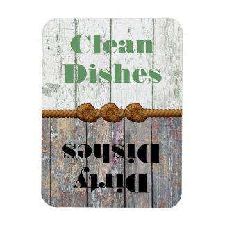 Imán limpio/sucio de la diversión del lavaplatos