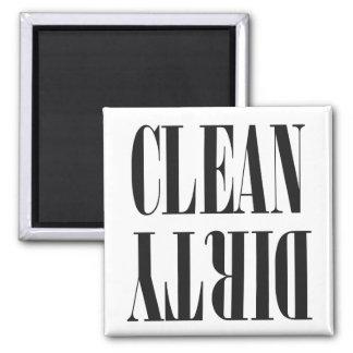 Imán limpio/sucio del color de encargo del   del