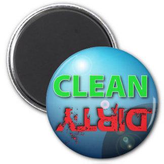 Imán Limpio-Sucio del lavaplatos