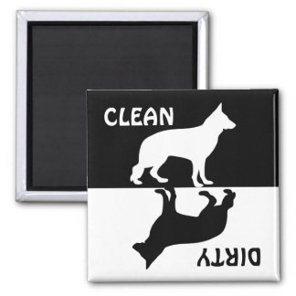 Imán limpio sucio del lavaplatos del perro de past