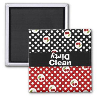 Imán limpio y sucio del lavaplatos de la diversión