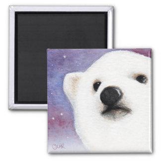 Imán lindo de Cub del oso polar