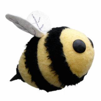 Imán lindo de la foto de la abeja esculturas fotográficas
