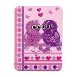 Imán lindo de la tarjeta del día de San Valentín c