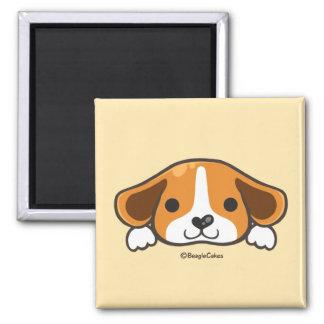 Imán lindo del beagle