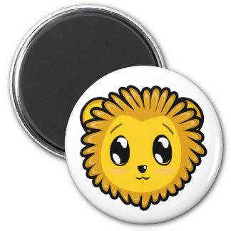 Imán lindo del león de Lil