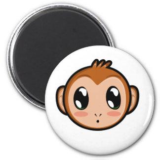 Imán lindo del mono de Lil
