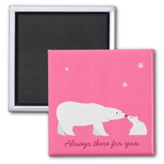 Imán lindo del oso polar: Siempre allí para usted
