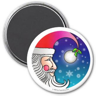 Imán - luna de Papá Noel